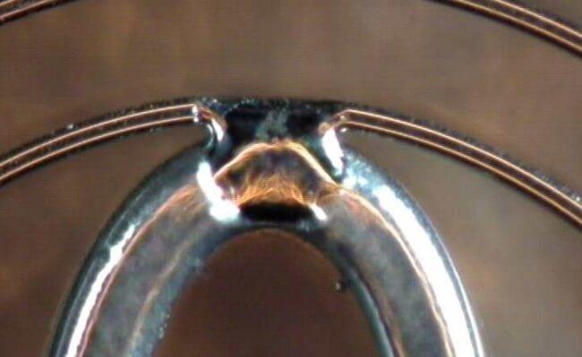 Micro Soudage Laser de composants horloger, medicaux, electroniques. Soudage laser de pignons et roues dentées, virolage laser.